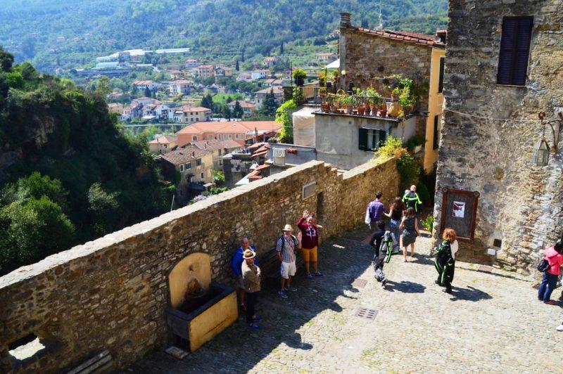 Entrance to Dolceacqua Castle