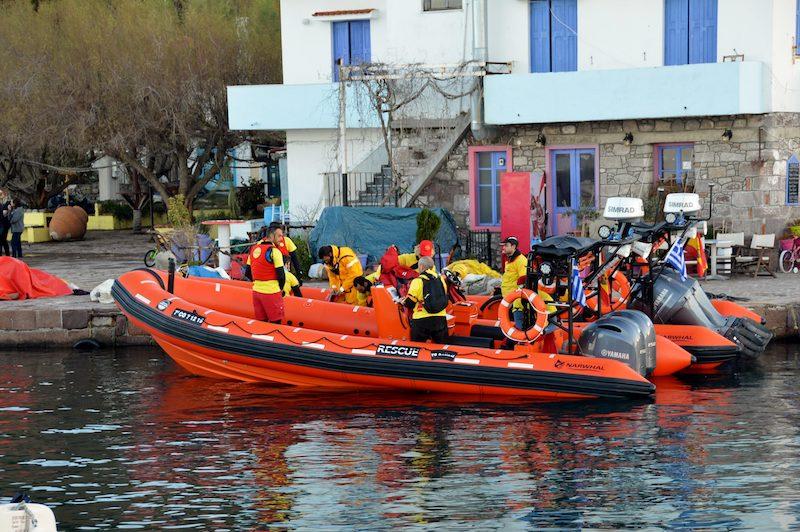 Spanish Rescue Team on Lesvos Greece