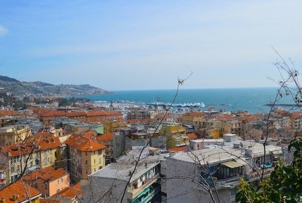 View of Sanremo Italy