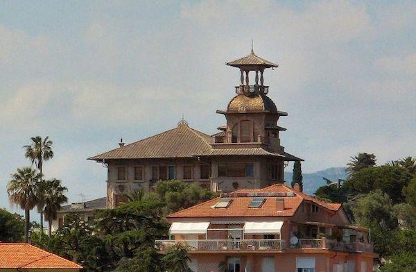 Villa Grock in Imperia, Italy