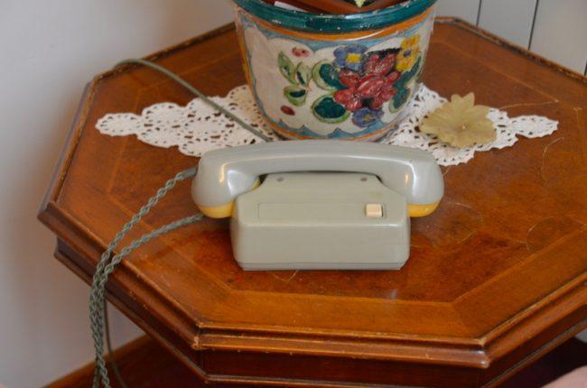 Old Style Telephone Taormina