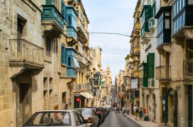 Valletta Malta Streets