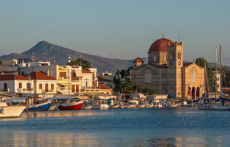 Greek island hopping to Aegina