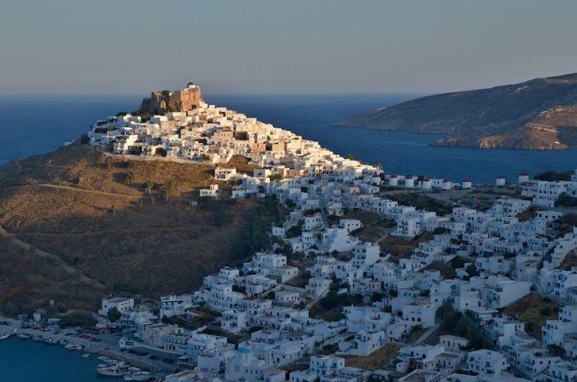 Chora Astypalaia Greece
