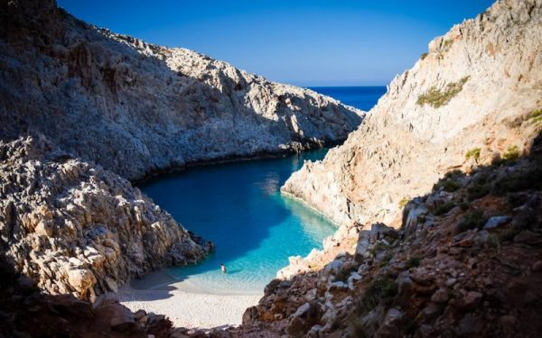 Best beaches in Greece on Crete island