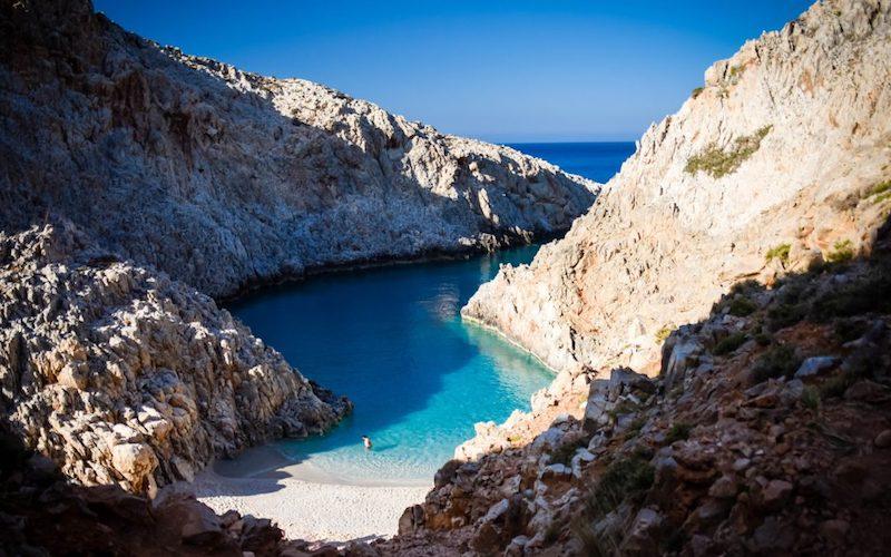 Best beaches in Greece on Crete island