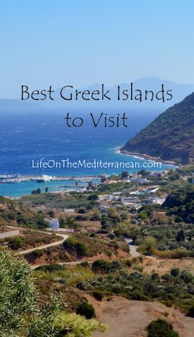 Best Greek Islands to Visit Pin