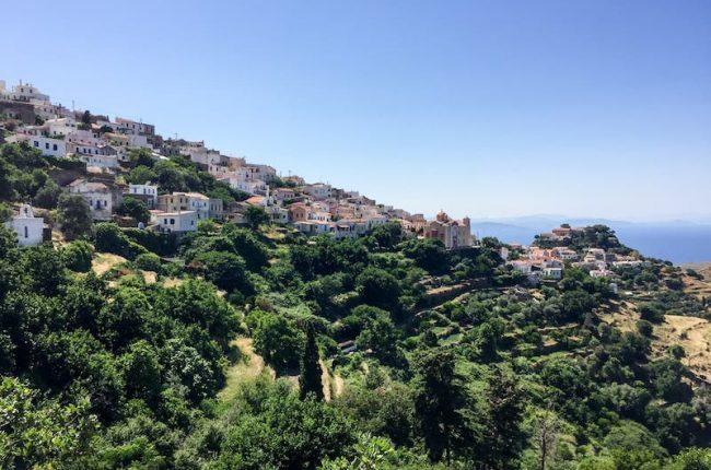 Kea Island Greece hillside