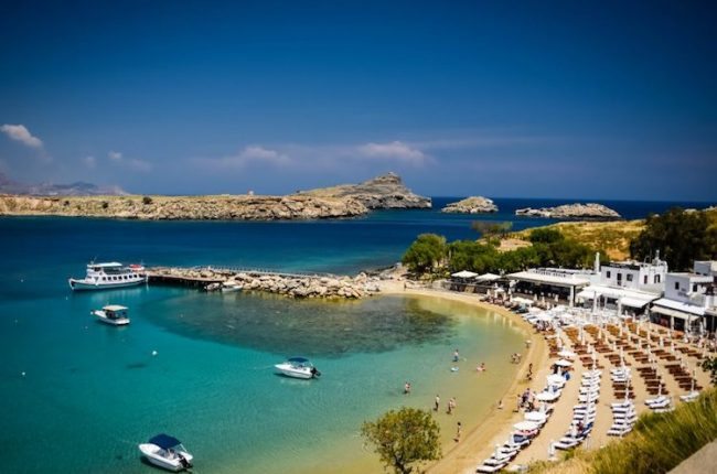 Rhodes the most beautiful island in Greece