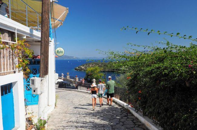 Vacation on the greek island of Meganisi