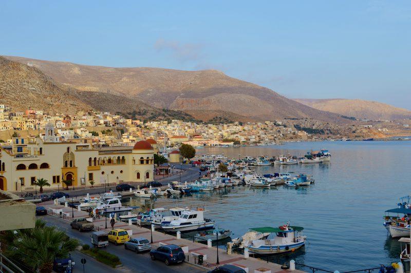 Pothia Harbor Kalymnos