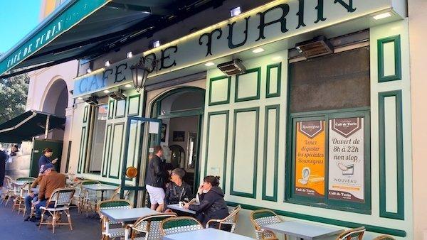 Cafe de Turin exterior