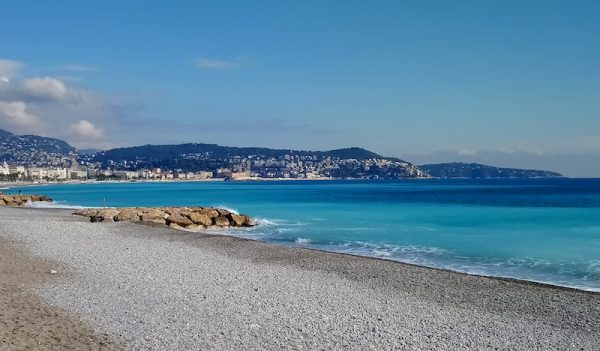 Living in Nice France Pros and Cons the Empty beach