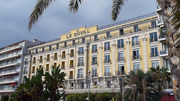 Hotel Le Royal Promenade Nice France