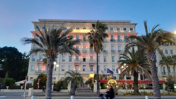 Hotel Westminster Promenade des Anglais Nice France