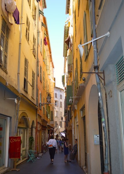 Walk the streets in Old Town Nice