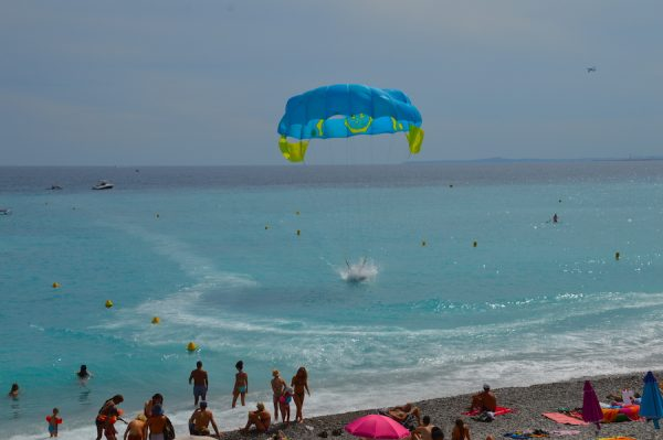Paragliding in Nice