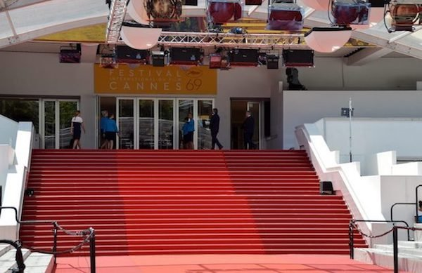 Best instagram spots on the cote d'azur are on the red carpet during the Cannes Film Festival