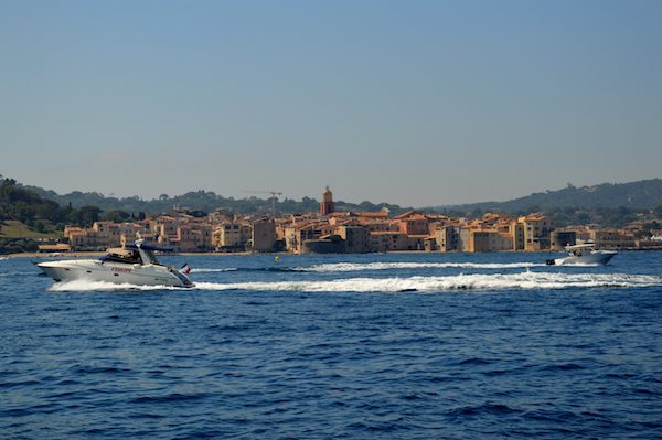 St Tropez from the water