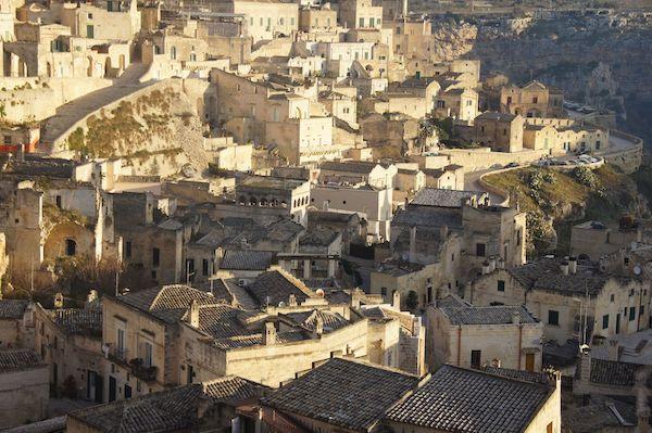 Stone sassi of Matera