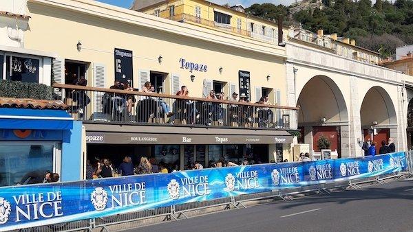 Topaze Bar in Nice France