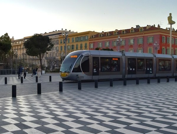 Is Nice France safe to visit when riding the tram?