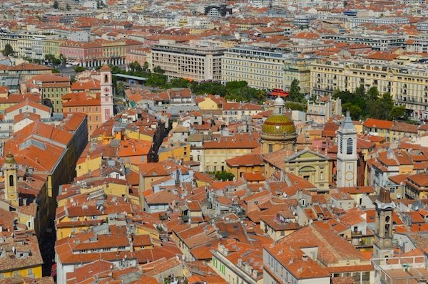 Views of the Old Town from Castle Hill