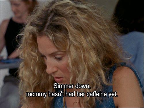 Carrie Bradshaw coffee