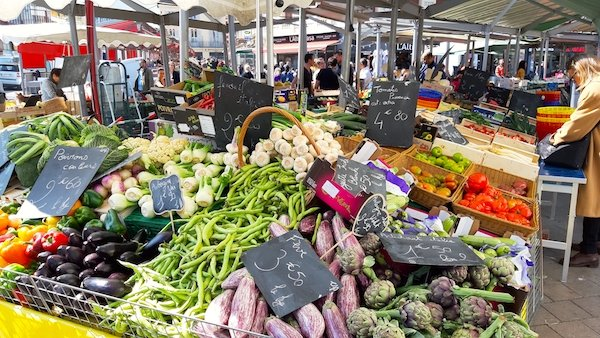 The cost of living in Nice France can be quite cheap if you shop at Liberation Market