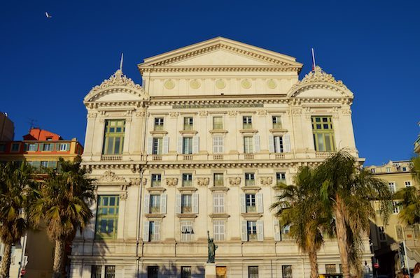 The cost of living in Nice France to go to the Opera is reasonable.