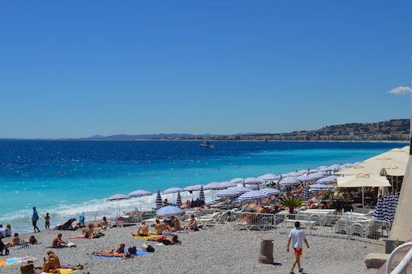 Crystaline water of Nice France
