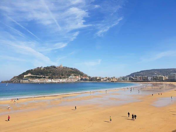 San Sebastian, Spain beach