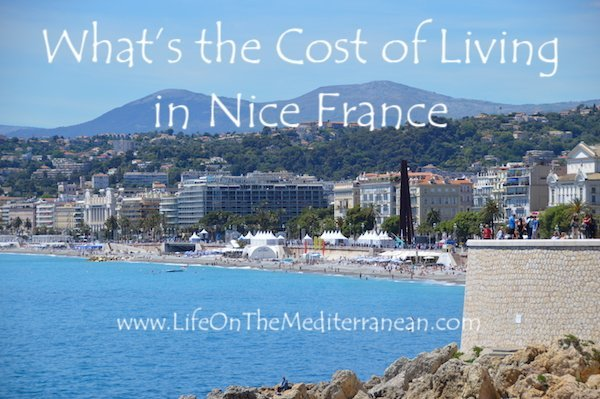 What's the cost of living in Nice France
