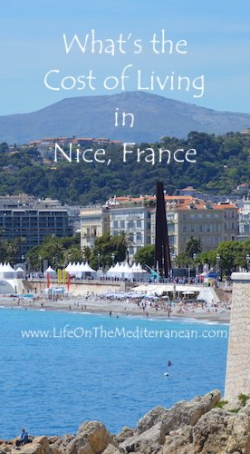 What's the cost of living in Nice France pin