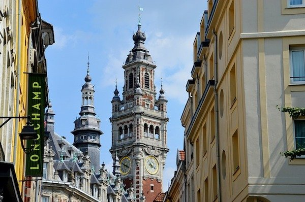 Lille, France Old Town