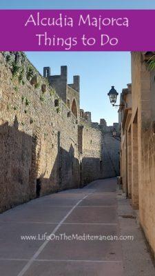 Alcudia Majorca Pinterest Pin