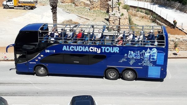 Alcudia guided tour by bus