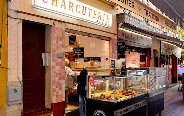Butchers in Nice France