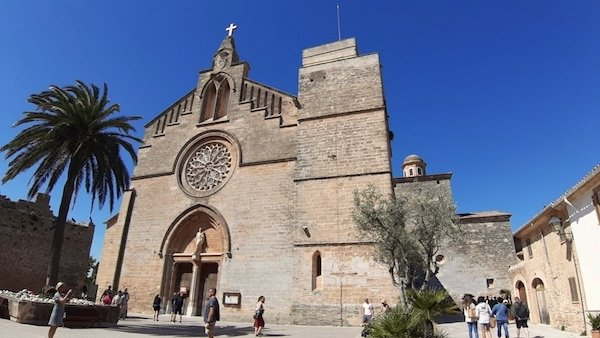 Sant Jaume Church in Alcudia