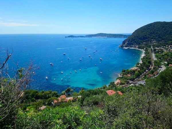 best instagram spots on the cote d'azur - Walking Nietzche path from Eze Village