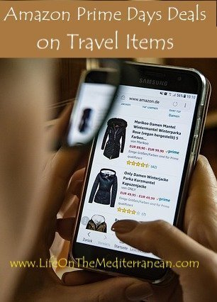 Amazon Prime Days Deals on travel items