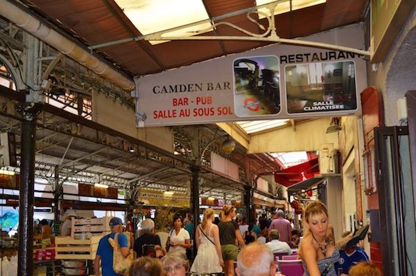 The buzz of the Provencal Market in Antibes