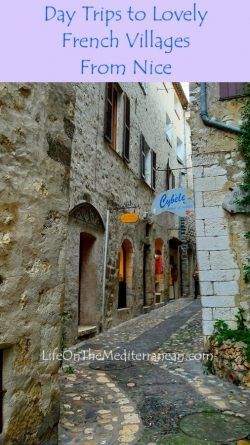 Street scene in St Paul de Vence