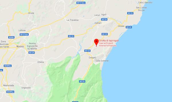 Grotta di Ispinigoli Sardegna