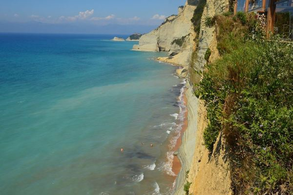 Logas beach Corfu Greece