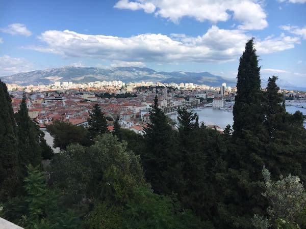 What to do in Split Croatia - See the views from Marjan Hill