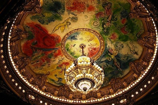 Chagall ceiling at Paris Garnier Opera