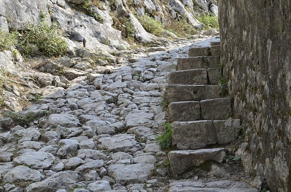 Steps to Kotor Fortress