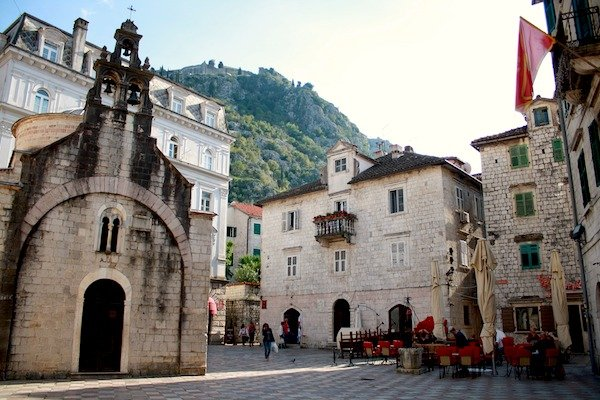 Sveti Luka church in Kotor