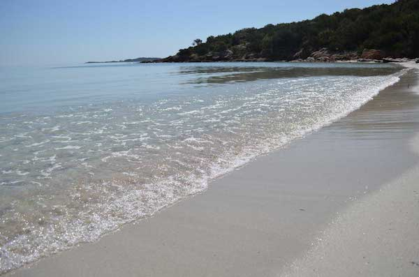Mediterranean beach off the beaten path in Corsica - Tahiti beach